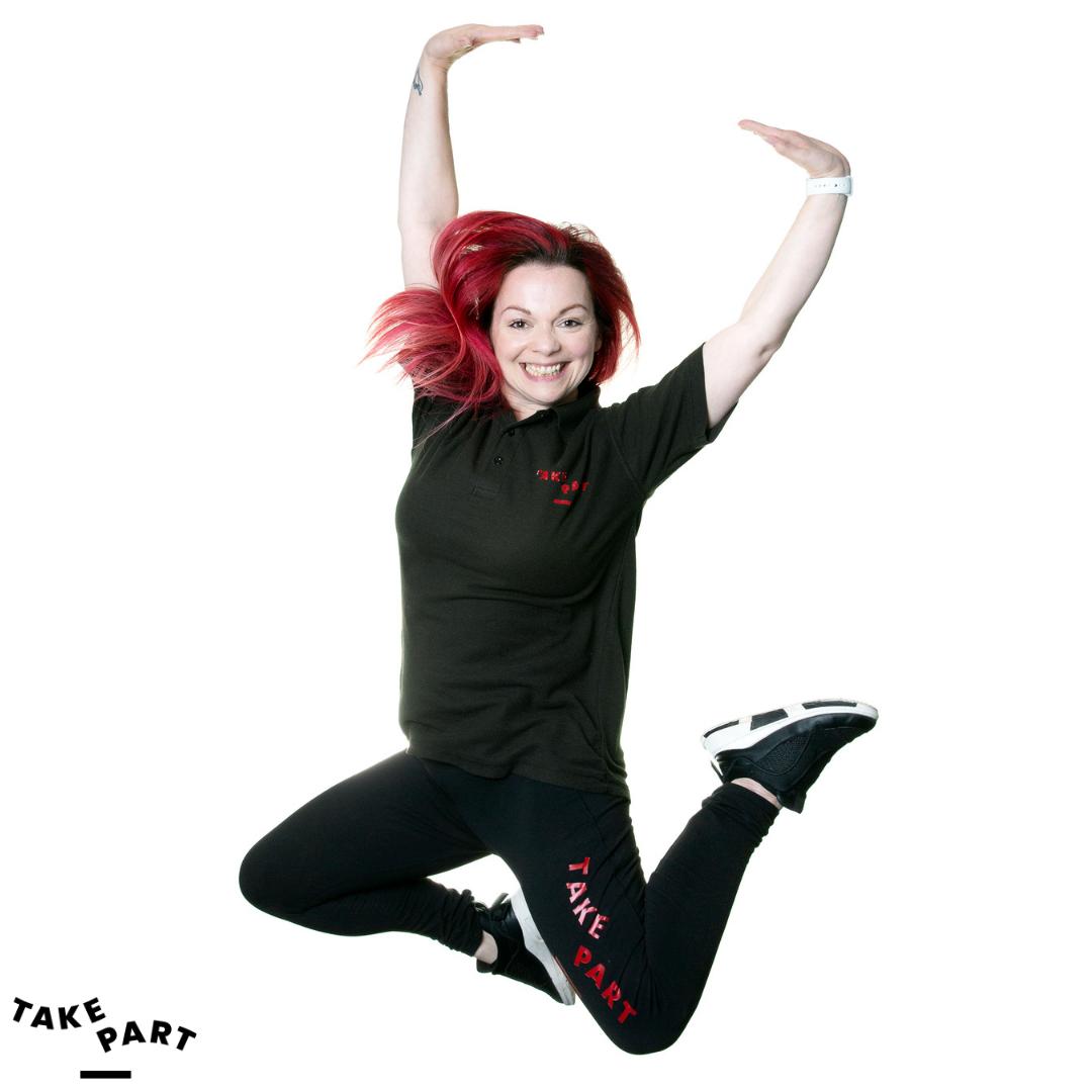 Jumping for Joy Leanne